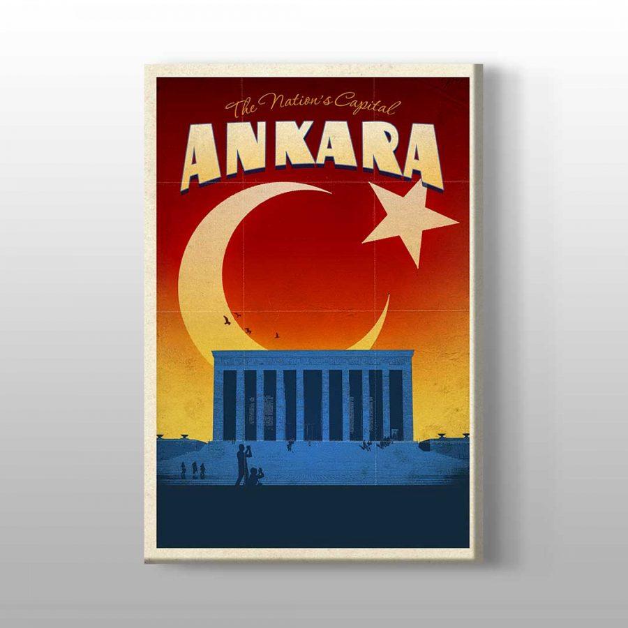 Ankara Anıtkabir Kanvas Tablo 1